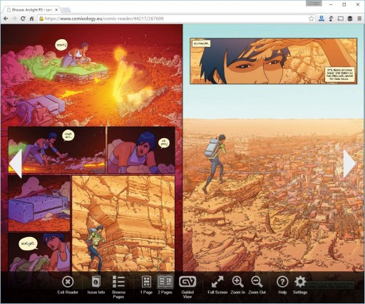 8House: Kiem no visor web de comiXology