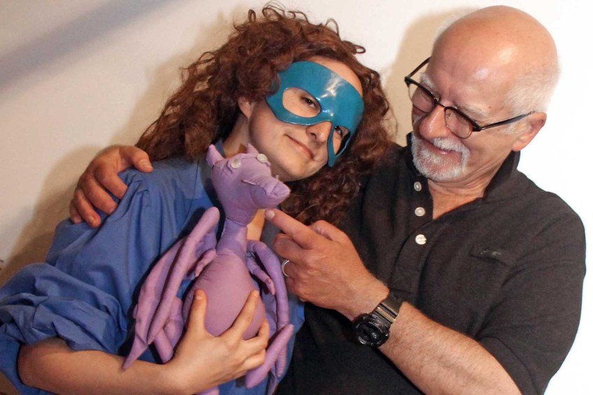 Chris Claremont con Kitty Pryde e Lockheed