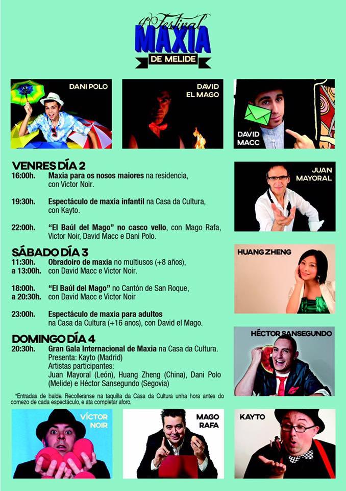 cartel do festival de maxia