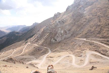 central Tian Shan mountains, Kyrgyzstan