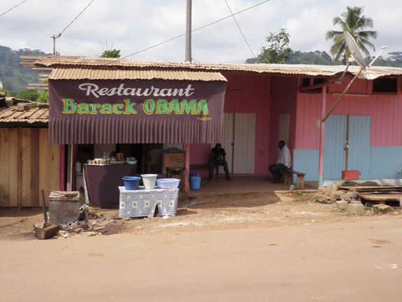 Changing the world, one restaurant at a time; Gabon