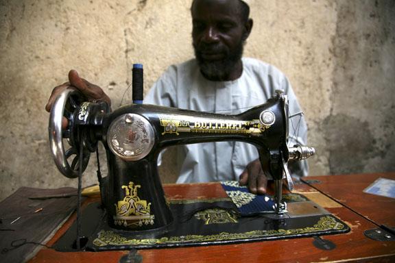 in the market; Maroua, Cameroon