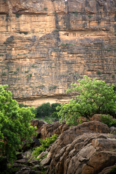 cliff dwellings, Dogon country, Mali