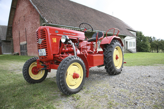Hermann Lanz tractor; Aulendorf, Germany