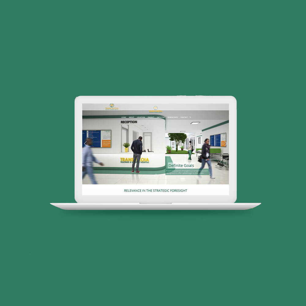 Trans Nzoia Teaching & Referral Hospital Website Design