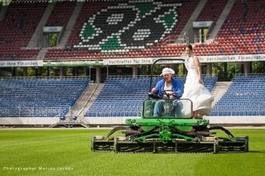 Hochzeit Stadion Hannover 96