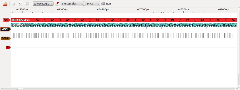 Saleae Logic Analyser Clone with Ubuntu Linux