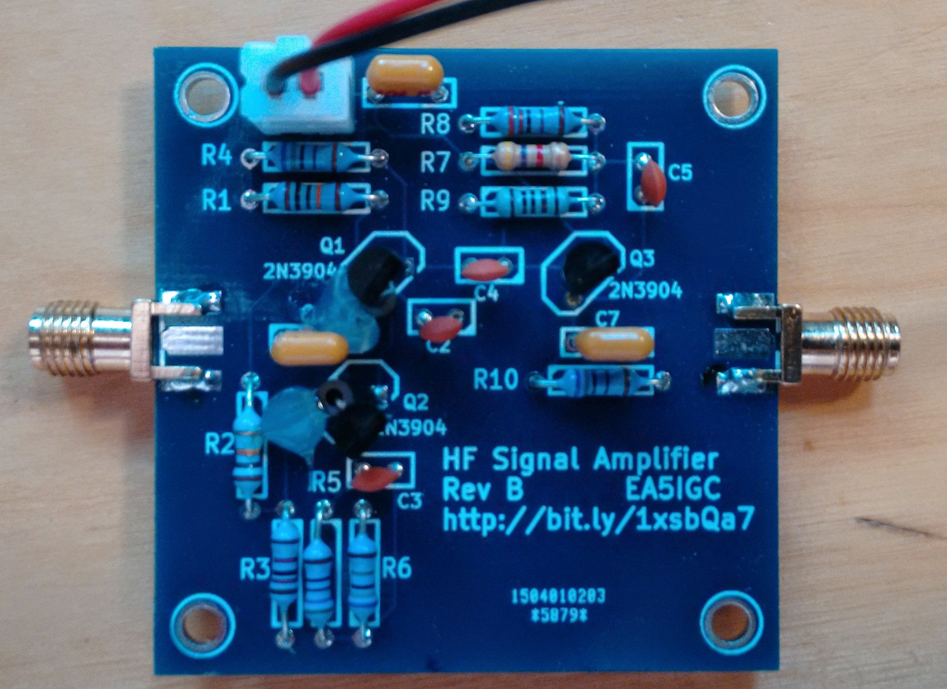 A Signal Amplifier Module For Hf Amplier Circuit Of The Radio Frequency Cascode Rf Img 20150525 190458536