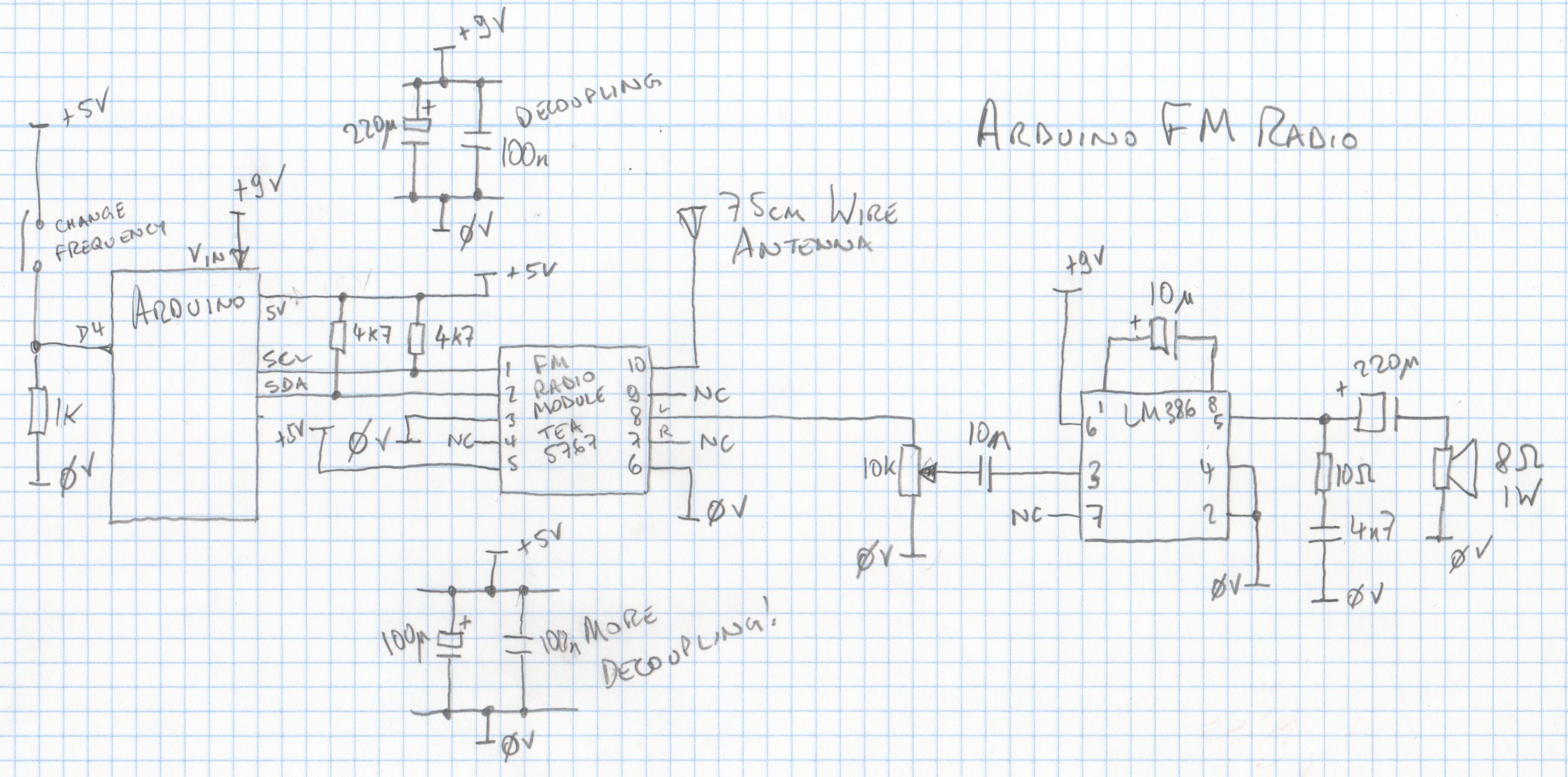Arduino Fm Radio Marcusjenkins