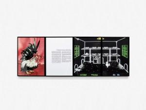 Marcus Kleinfeld, ANALYSE / VIRTUALITÄT, 2014 4 inkjet prints 43 x 123 cm