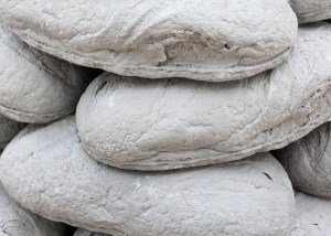 Marcus Kleinfeld, CAIRN (Detail), 2011 Pigmented plaster casts Dimensions variable