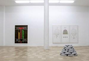 Marcus Kleinfeld, MENSCHENPARK Installation view Schmidt&Handrup, Cologne