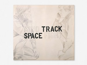 Marcus Kleinfeld, MIND TRACK / SPACE FIGHT, 2009 Oil, pencil on canvas 100 x 110 cm (Paintings