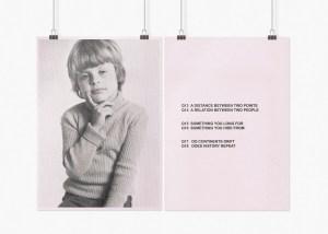 Marcus Kleinfeld, SYNDROME REALITY (I-IV), 2009 8 inkjet prints on sugar paper 59,4 x 84 cm per set