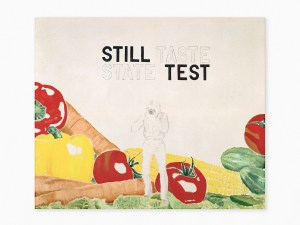 Marcus Kleinfeld, STILL STATE / TASTE TEST, 2009 Oil, pencil on canvas 120 x 140 cm