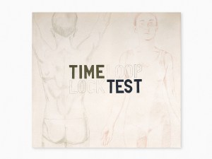 Marcus Kleinfeld, TIME LOCK / LOOP TEST, 2009 Oil and pencil on canvas 100 x 110 cm