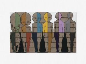 Marcus Kleinfeld, TRANSFORMATOR, 2011 Oil on linen 80 x 130 cm
