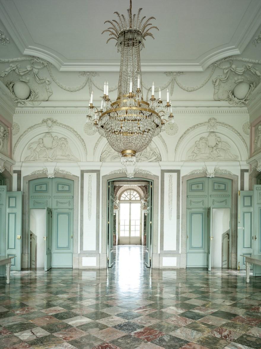 Intérieurs von Schloss Benrath