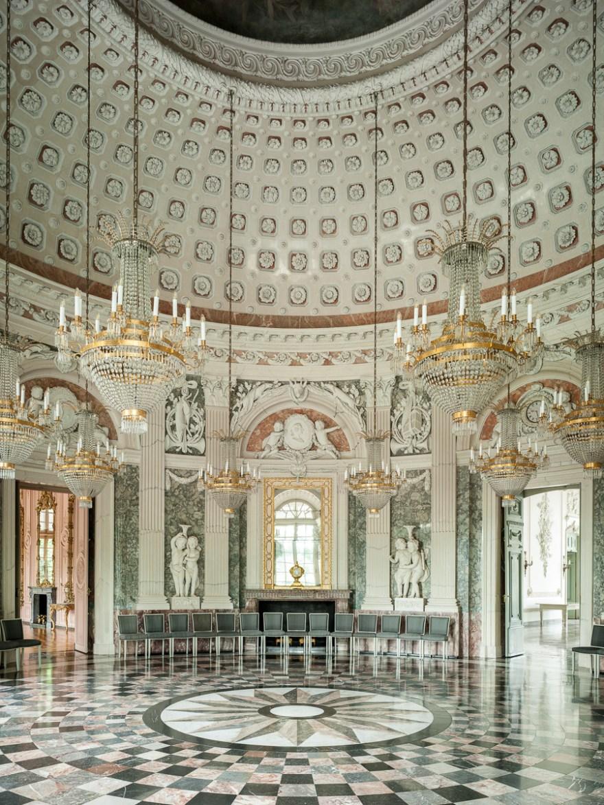 Das Barocke Schloss Benrath fotografiert von Marcus Schwier