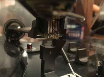 Dual 1218 – Cartridge Contact Cleaning