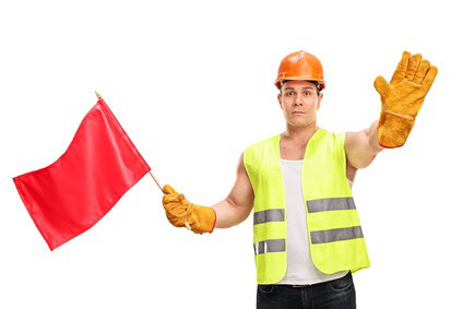 due diligence wall of shame - watch for red flags