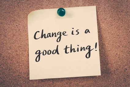 Change is a good thing!