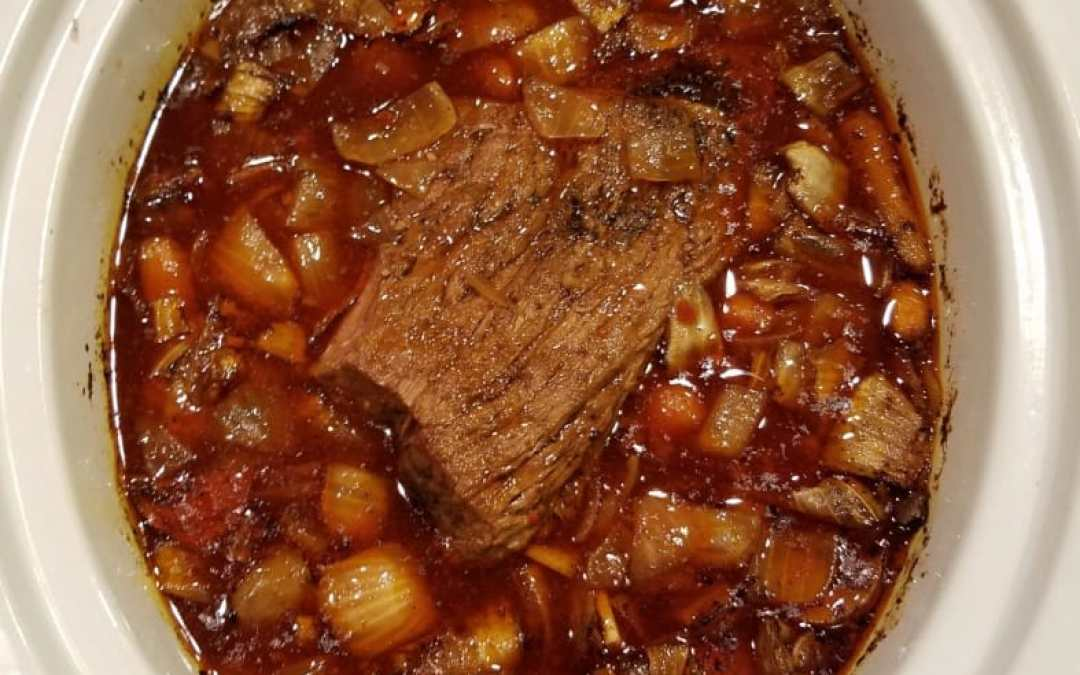 Crock-Pot Roast with a Kick