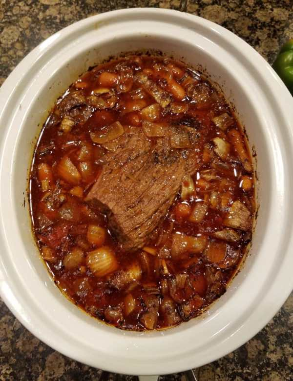 Crock Pot Roast with a Kick 3