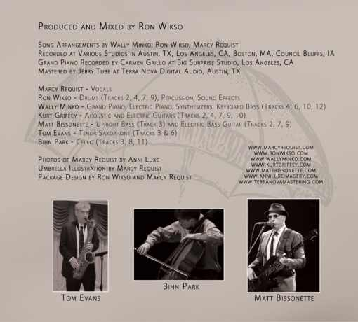 Marcy Requist - Covers of Comfort - Musician Credits Panel