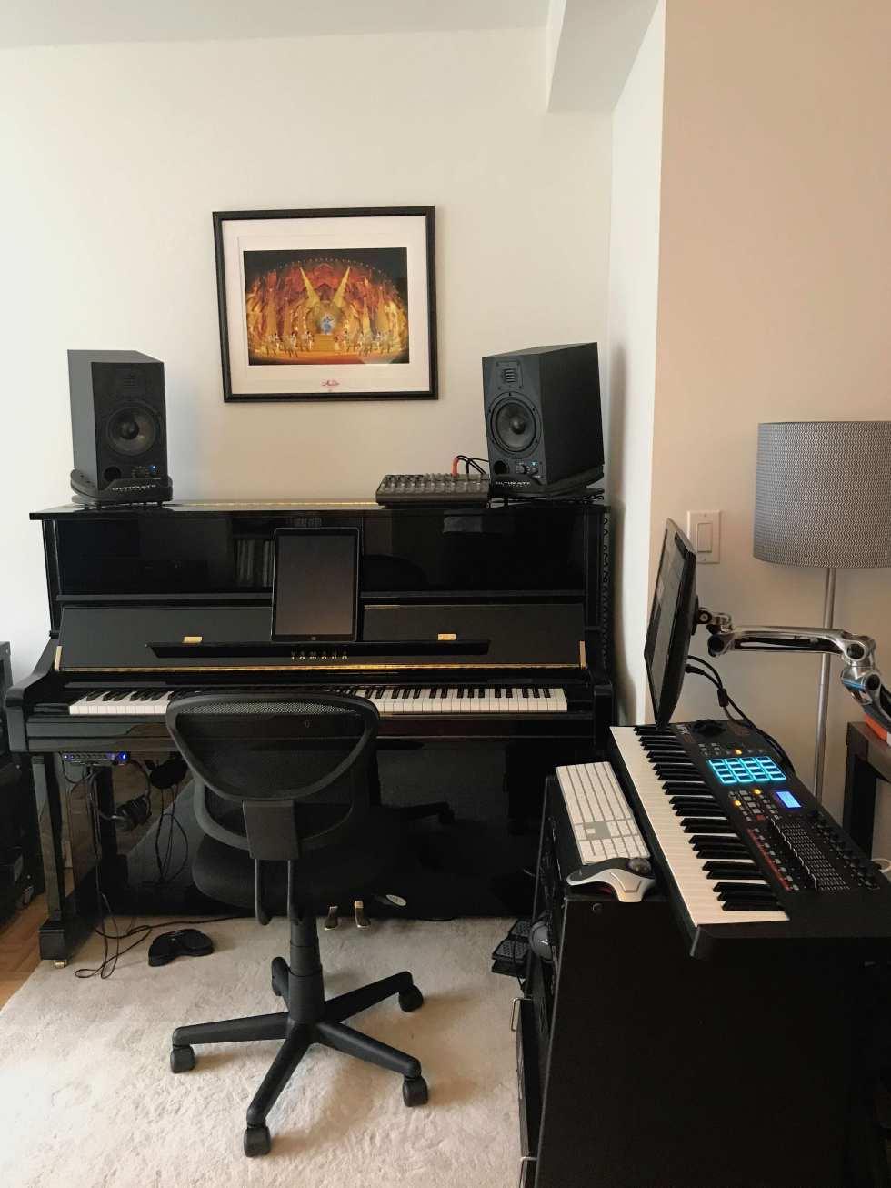 Yamaha U1SH Silent Piano MainStage Rig