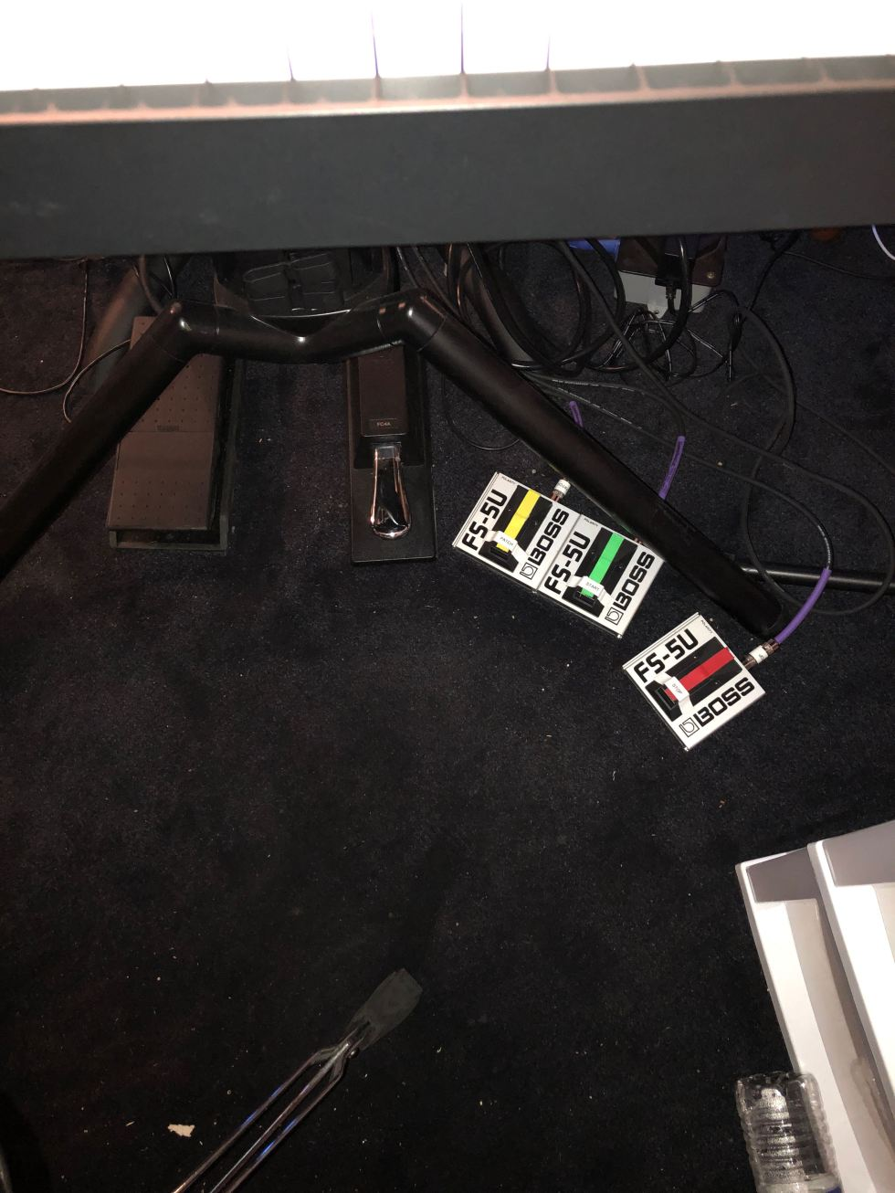 K1 Footswitches for Controlling MainStage