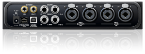 motu 4pre usb audio interface - back