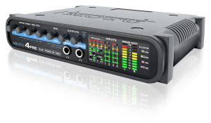 motu 4pre usb audio interface - front