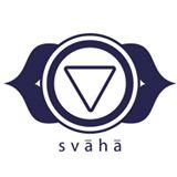 Logo svaha yoga Aspe