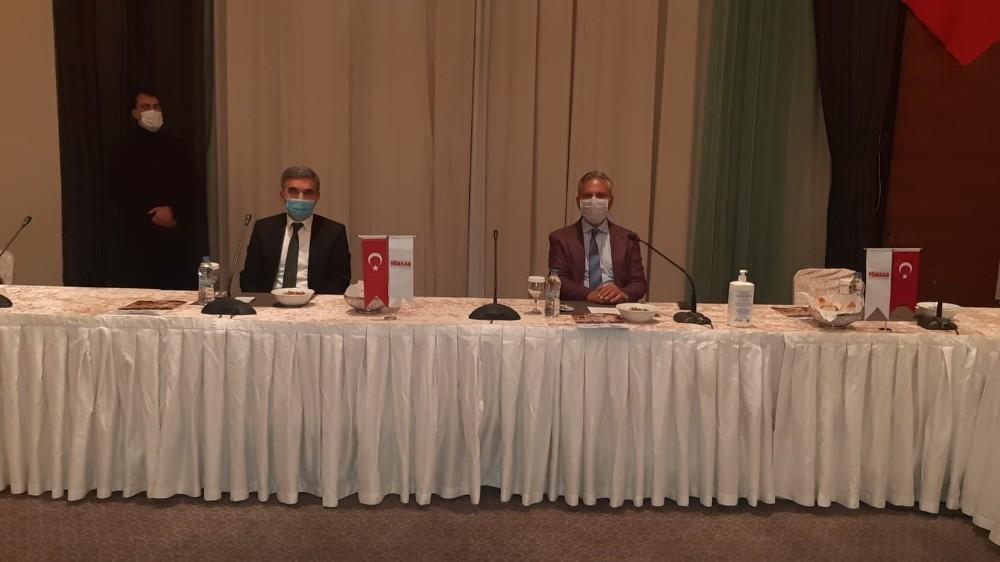 TÜRSAB Başkanı Bağlıkaya, Mardin Seyahat Acentaları temsilcileriyle toplantı gerçekleştirdi