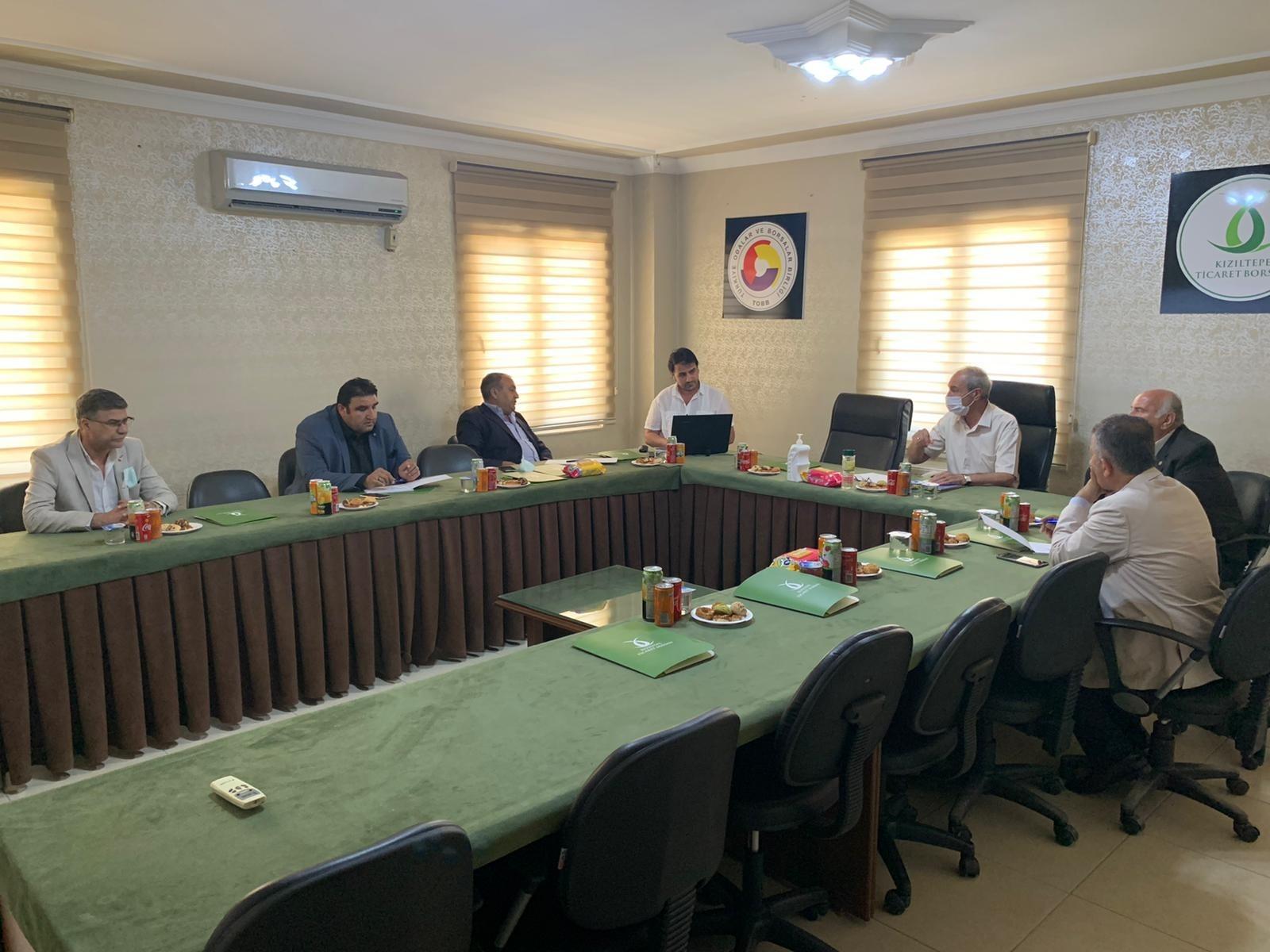 Kızıltepe'de tarım sektörünün sorun ve talepleri masaya yatırıldı