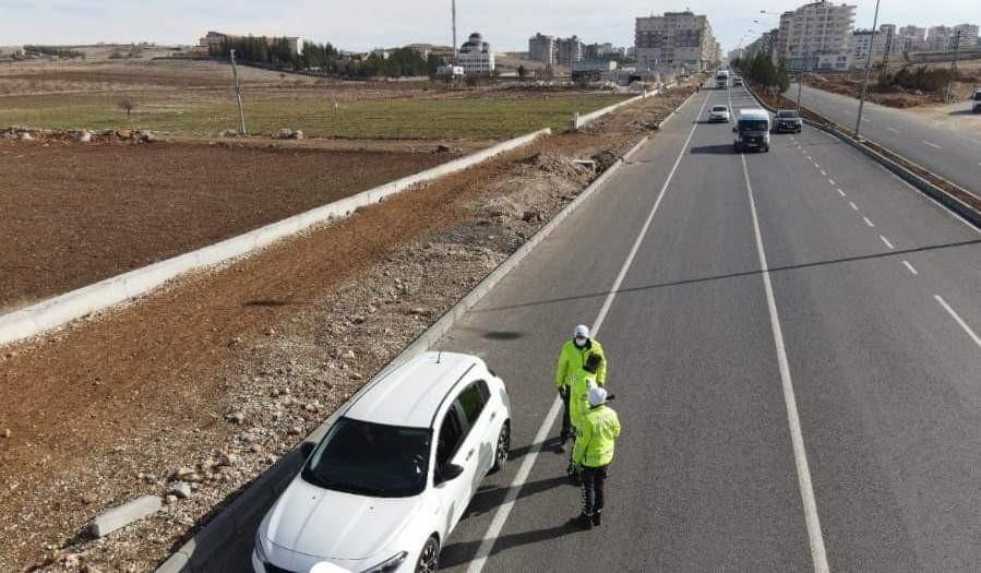 Mardin'de trafik denetimlerine ağırlık verildi