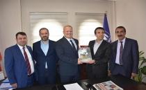 BİK Müdürü Günbegi'den Başkan Durgan'a ziyaret