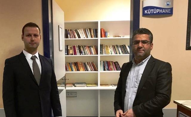 Midyat Devlet Hastanesinde kütüphane kuruldu