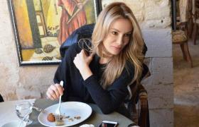 Ünlü Manken ve oyuncu Özçelik Mardin'i Gezdi