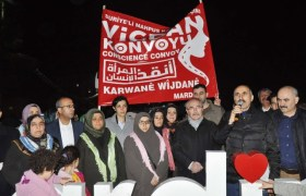"""Vicdan Konvoyu""na Mardin'den destek"