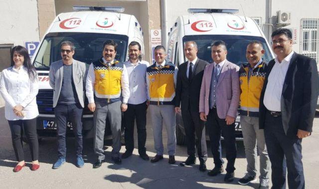 Yeni ambulanslar hizmete alındı