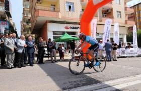 Uluslararası Mezopotamya Bisiklet Turu'nun birinci etabı  tamamlandı