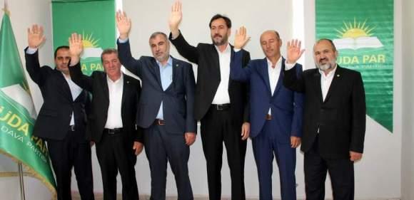 HÜDA PAR Mardin adaylarını tanıttı