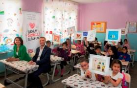 """""""Benim Renkli Sınıfım""""  projesi Mardin'den başladı"""