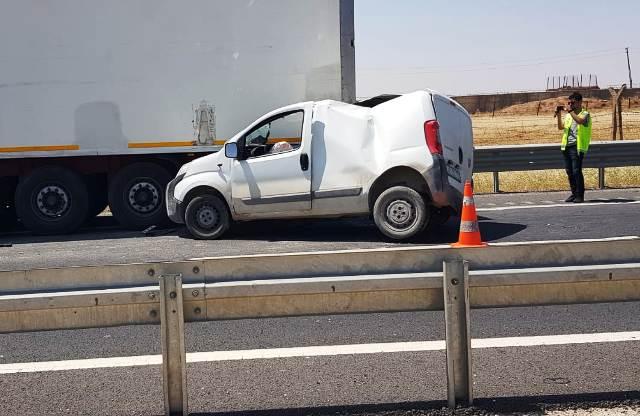 İpekyolunda kaza: 1 ağır yaralı