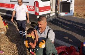 Kızıltepe'de trafik kazası: 1 ölü, 7 yaralı