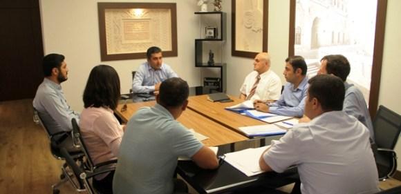 Midyat'ta koordinasyon toplantısı