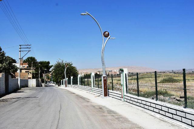 Nusaybin'de Sınır Caddesi yenilendi