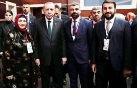 Cumhurbaşkanıyla bir araya geldiler